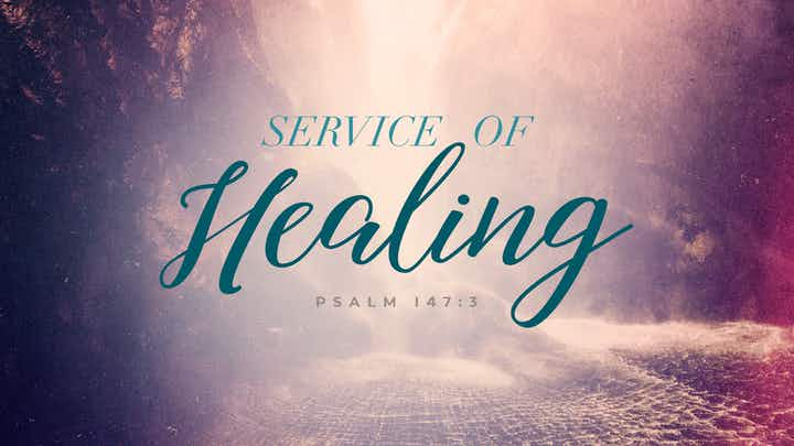 Service Of Healing Waterfall Bliss CMG Template | CMG | Church